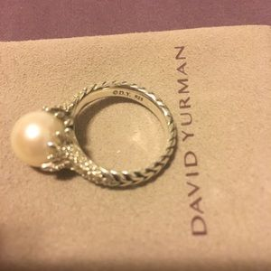 Size 7 pearl ring